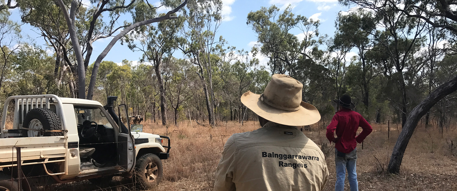 Balnggarrawarra Rangers working on Normanby Station to improve land condition and water quality