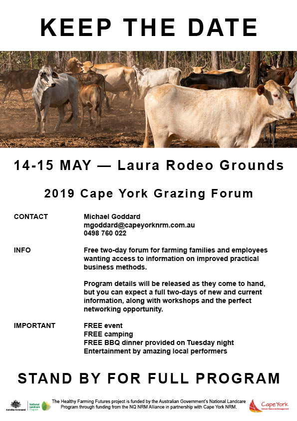 Cape York Grazing Forum Flyer